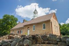 Εκκλησία Moravian Στοκ φωτογραφίες με δικαίωμα ελεύθερης χρήσης