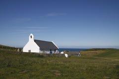Εκκλησία Mwnt Στοκ φωτογραφίες με δικαίωμα ελεύθερης χρήσης