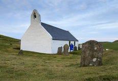 Εκκλησία Mwnt Στοκ Εικόνα