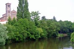 Εκκλησία Notre Dame, Νάντη, Γαλλία Clisson Στοκ φωτογραφία με δικαίωμα ελεύθερης χρήσης