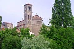 Εκκλησία Notre Dame, Νάντη, Γαλλία Clisson Στοκ Εικόνες