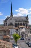 Εκκλησία Notre-Dame δ ` Obezine στο Angouleme, Γαλλία Στοκ εικόνα με δικαίωμα ελεύθερης χρήσης