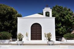 Εκκλησία Nuestra Senora del Carmen, Arrieta, Lanzarote νησί, Στοκ Φωτογραφίες