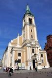 Εκκλησία ot το ιερό πνεύμα στο Τορούν, Πολωνία στοκ εικόνες με δικαίωμα ελεύθερης χρήσης