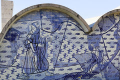 Εκκλησία Pampulha στο Μπέλο Οριζόντε, Βραζιλία Στοκ εικόνες με δικαίωμα ελεύθερης χρήσης