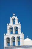 Εκκλησία Panagia Platsani, Oia, Santorini Στοκ εικόνα με δικαίωμα ελεύθερης χρήσης