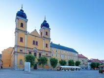Εκκλησία Piaristic του ST Frantiska Xavarskeho σε Trencin στοκ εικόνες