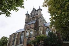 Εκκλησία Pieterskerk στο Λάιντεν, Ολλανδία Στοκ φωτογραφία με δικαίωμα ελεύθερης χρήσης