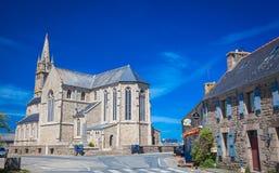 Εκκλησία Plougrescant Στοκ εικόνες με δικαίωμα ελεύθερης χρήσης