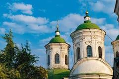 Εκκλησία Pokrovska σε Podil, Κίεβο, Ουκρανία Στοκ φωτογραφία με δικαίωμα ελεύθερης χρήσης