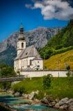 Εκκλησία Ramsau Στοκ Εικόνες