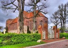 Εκκλησία Reepsholt Στοκ Εικόνες