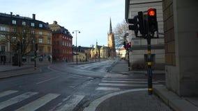 Εκκλησία Riddarholm, ένα από το παλαιότερο κτήριο στη Στοκχόλμη, Σουηδία φιλμ μικρού μήκους