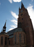 Εκκλησία Riddarholmskyrkan στην παλαιά πόλη της Στοκχόλμης (Gamla Stan) Στοκ Εικόνα