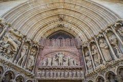 Εκκλησία SAN Bartolome σε Logroño, Ισπανία Στοκ Εικόνες