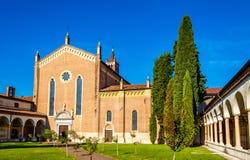 Εκκλησία SAN Bernardino στη Βερόνα Στοκ Φωτογραφίες