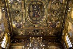 Εκκλησία SAN Gregorio Armeno, Νάπολη Ιταλία Στοκ Φωτογραφία