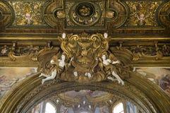 Εκκλησία SAN Gregorio Armeno, Νάπολη Ιταλία Στοκ εικόνες με δικαίωμα ελεύθερης χρήσης