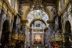 Εκκλησία SAN Gregorio Armeno Στοκ Φωτογραφίες