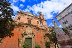 Εκκλησία SAN Vicente Ferrer της Βαλένθια Santo Tomas Στοκ εικόνα με δικαίωμα ελεύθερης χρήσης