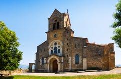 Εκκλησία SAN Vicente Martir Υ San Sebastian σε Frias στοκ φωτογραφία με δικαίωμα ελεύθερης χρήσης