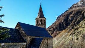 Εκκλησία Sant Feliu de Bagergue Στοκ Εικόνες