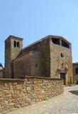 Εκκλησία Sant Llorenç de les Arenes, Casavells, Baix Emporda, Στοκ εικόνες με δικαίωμα ελεύθερης χρήσης