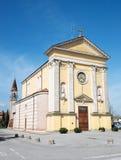 Εκκλησία Santa Margherita & x28 ST Margaret& x29  σε Campodoro & x28 PD& x29  Στοκ εικόνα με δικαίωμα ελεύθερης χρήσης