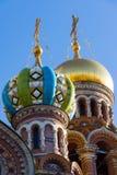 Εκκλησία Savior στο αίμα - αρχιτεκτονικές λεπτομέρειες και καλλιτεχνικά στοιχεία της πρόσοψης, Αγία Πετρούπολη, Ρωσία Στοκ φωτογραφία με δικαίωμα ελεύθερης χρήσης
