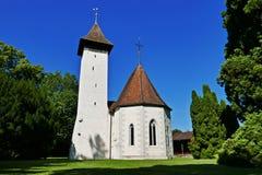 Εκκλησία Scherzligen Στοκ φωτογραφία με δικαίωμα ελεύθερης χρήσης