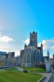 Εκκλησία sint-Niklaas σε Gent Στοκ Φωτογραφίες
