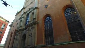 Εκκλησία Slottskyrkan, βασιλικό παρεκκλησι της Στοκχόλμης, Σουηδία απόθεμα βίντεο