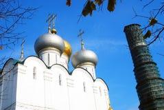 Εκκλησία Smolensky μονή Μόσχα novodevichy Στοκ φωτογραφίες με δικαίωμα ελεύθερης χρήσης