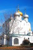 Εκκλησία Smolensky το φθινόπωρο μονή Μόσχα novodevichy Στοκ φωτογραφία με δικαίωμα ελεύθερης χρήσης