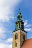 Εκκλησία ST Mary στο Βερολίνο, Γερμανία Στοκ εικόνες με δικαίωμα ελεύθερης χρήσης