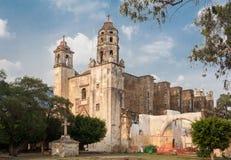 Εκκλησία Tepoztlan Natividad Στοκ φωτογραφία με δικαίωμα ελεύθερης χρήσης