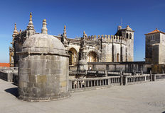 Εκκλησία Tomar, Πορτογαλία Στοκ φωτογραφία με δικαίωμα ελεύθερης χρήσης