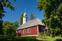 Εκκλησία Turaida Στοκ Εικόνες