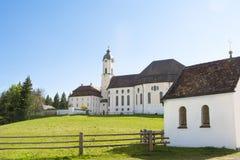 Εκκλησία Wies παγκόσμιων κληρονομιών Στοκ Εικόνα
