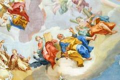 Εκκλησία Wieskirche, Steingaden στη Βαυαρία, Γερμανία Στοκ φωτογραφίες με δικαίωμα ελεύθερης χρήσης