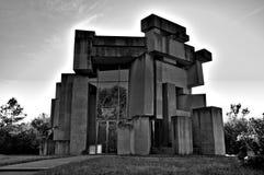 Εκκλησία Wotruba Στοκ φωτογραφίες με δικαίωμα ελεύθερης χρήσης