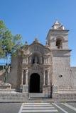 Εκκλησία & x28 Yanahuara ή San Juan Bautista de Yanahuara Church& x29  - Arequipa, Περού Στοκ Φωτογραφίες