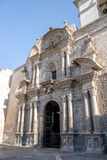 Εκκλησία Yanahuara ή San Juan Bautista de Yanahuara Church - Arequipa, Περού Στοκ Εικόνες