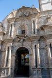 Εκκλησία Yanahuara ή San Juan Bautista de Yanahuara Church - Arequipa, Περού Στοκ Εικόνα