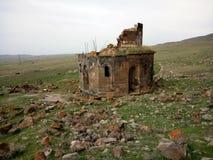 Εκκλησία Yeghvard Zoravar στοκ φωτογραφία με δικαίωμα ελεύθερης χρήσης