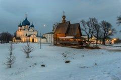 εκκλησίες και μοναστήρια της Ρωσίας Στοκ εικόνα με δικαίωμα ελεύθερης χρήσης