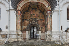 Εκκλησίες στο κόκκινο τετράγωνο Στοκ Εικόνες
