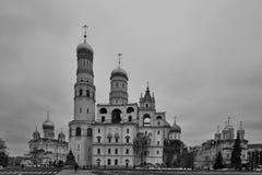 Εκκλησίες στο κόκκινο τετράγωνο Στοκ Φωτογραφίες