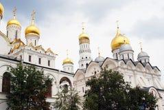 Εκκλησίες της Μόσχας Κρεμλίνο Περιοχή παγκόσμιων κληρονομιών της ΟΥΝΕΣΚΟ Στοκ Εικόνες