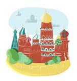 Εκκλησίες της Μόσχας Στοκ Φωτογραφία